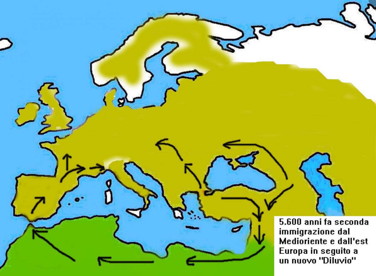Cartina 5 Terre Liguria